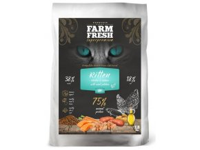Farm Fresh Kitten Chicken and Salmon 1,8 kg