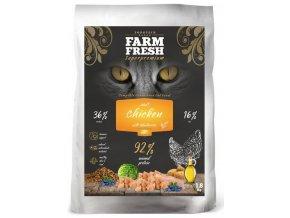 Granule pro kočky Farm Fresh s volně chovaným kuřetem