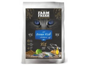 Farm Fresh Cat Ocean Fish and Blueberries 1,8 kg