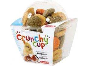 Zolux Crunchy Cup mrkev vojtěška