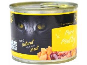 drůbeží maso pro kočky