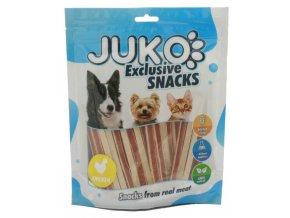 Juko kuřecí sandwich - pamlsky pro psy 250 g velké balení