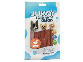 Juko kachní proužky - pamlsky pro psy 70 g