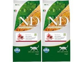 Výhodné balení krmiva ND pro kastrované kočky