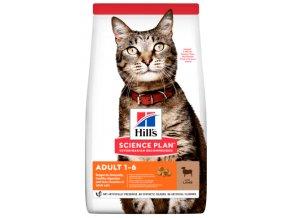 Granule Hill s pro dospělou kočku s jehněčím