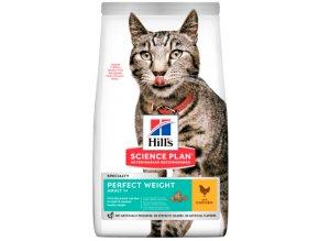 Hill's granule pro štíhlou linii kočky