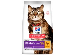 Hill's Science Plan Adult Sensitive Stomach and Skin Chicken 300 g