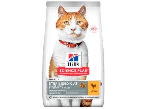 Hill's granule pro kastrované kočky