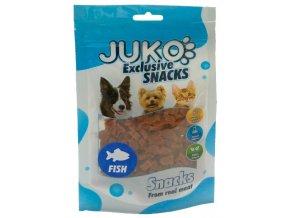 Juko rybičky mini tuňákové - pamlsky pro kočky a psy 70 g