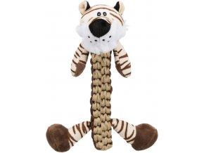 Tygr s odolným tělíčkem 32 cm