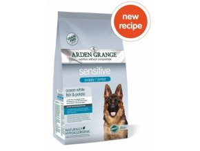 arden grange puppy junior sensitive white fish