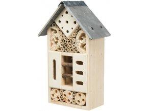 Hotel pro hmyz dřevo/břidlice 18x29x10 cm