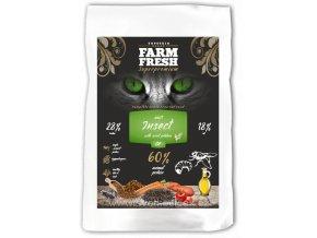 Hmyzí krmivo pro kočky