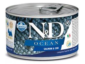 554 18 nd ocean canine 140g salmon cod