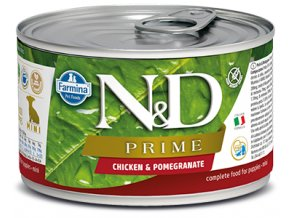 515 58 nd prime canine 140g chicken puppy