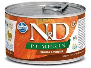 528 18 nd pumpkin canine 140g venison