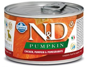 523 10 nd pumpkin canine 140g chicken puppy