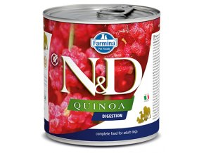 550 16 nd quinoa canine 285g digestion