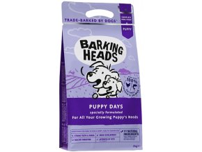 Barking Heads Puppy days
