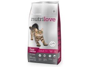 Kuřecí granule pro kočky