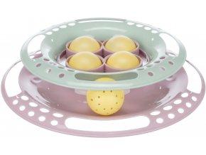 Junior Kitten Circle - hračka pro koťátka s míčkem +4 náhradní míčky