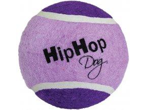 Velký tenisový míč 10 cm, bezpečný pro zuby - fialový