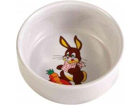 Keramická miska králík 240 ml, 11 cm