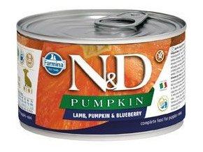 N&D Pumpkin Puppy Lamb Blueberry Mini 140 g