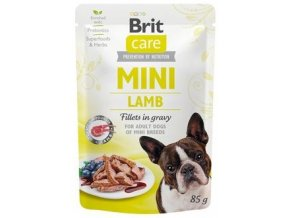 Brit Care Dog Mini Lamb - kapsička pro psy 85 g