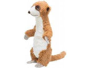 Plyšová surikata se zvukem 40 cm - hračka pro psy
