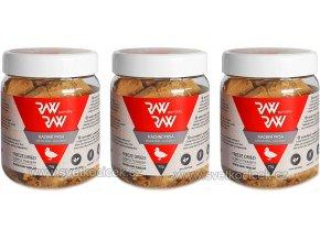 RAW raw kachna 70 g 3 ks+