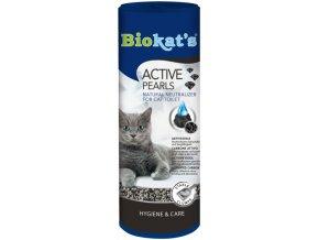 Biokat's Active Pearls pohlcovač pachu do WC pro kočky 700 ml