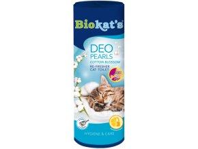 Biokat's Cotton Blossom deodorant do WC pro kočky 700 g