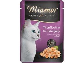 Miamor Feine Filets tuňák a rajče kapsička
