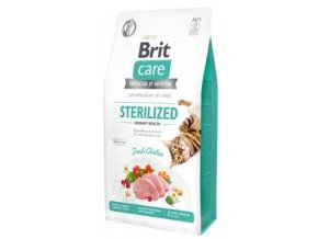 Brit Care Cat GF Sterilized Urinary Care 7 kg