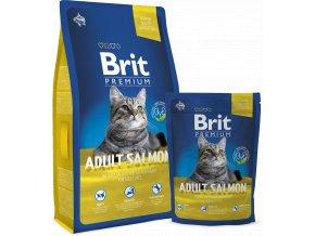 Brit Premium Cat Adult Salmon 800 g