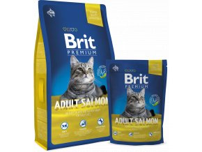 Brit Premium Cat Adult Salmon 800 g