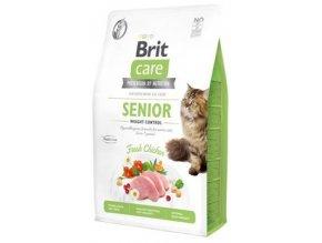 Brit Care Cat GF Senior Weight Control 7 kg