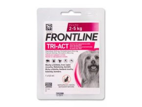 Frontline TRI-ACT Spot On Dog XS 2 - 5 kg