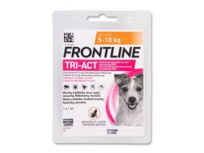 Frontline TRI-ACT Spot On Dog S 5 - 10 kg