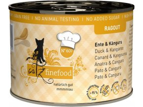 Catz Finefood Ragout kachna a klokan - konzerva pro kočky 200 g