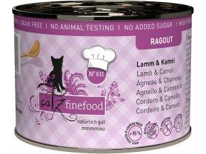 Catz Finefood Ragout jehněčí a velbloud - konzerva pro kočky 200 g