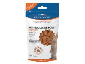 Francodex Hairball Remedy pro králíky slad a papája - 50 g