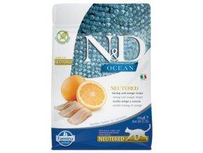 N&D Ocean Neutered Herring Orange 300 g