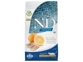 N&D Ocean Neutered Herring Orange 1,5 kg