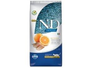 N&D Ocean Neutered Herring Orange 5 kg