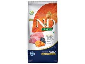 N&D Grain Free Cat PUMPKIN Neutered Lamb Blueberry 5 kg