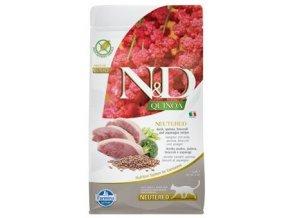 N&D Grain Free Cat QUINOA Neutered Duck 1,5 kg