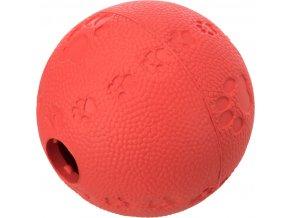 Gumový míček na pamlsky 6 cm