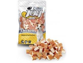 Calibra joy mini chicken cod sandwich